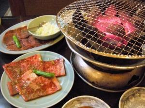 松本市 縄手通り 名月館 焼き肉