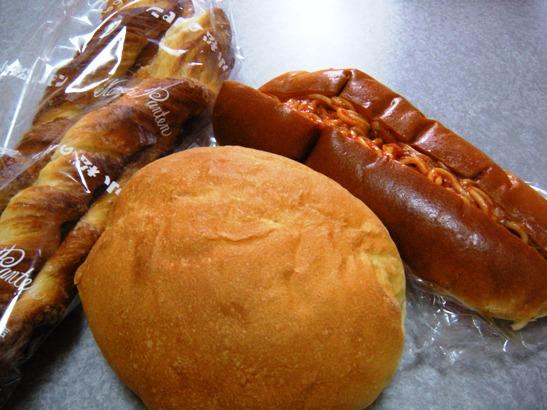 松本市 小松のパン 牛乳パン あんバタサンド