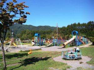 木祖村 こだまの森 公園 巨大迷路