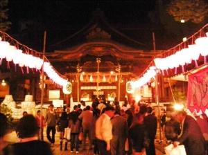松本市 神道祭り 松本平 ナイアガラ 花火
