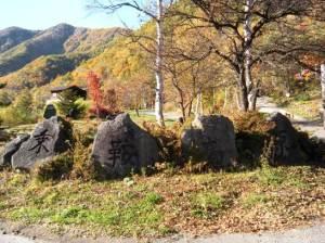 松本市 乗鞍高原 高原 大カエデ 初雪