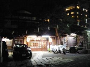 松本市 浅間温泉 尾上の湯 白線流し ロケ地