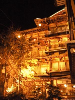 松本市 温泉 渋温泉 金具屋 千と千尋の神隠し